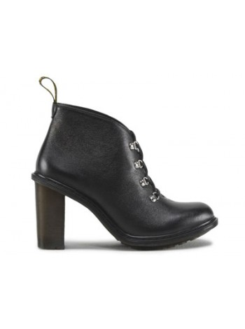 Ботильоны женские Dr.Martens Annika Black Polished Virginia 16137001_45757