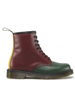 Ботинки женские Dr.Martens Green+Cherry Red+Black+Yellow Smooth 1460 16173310_45785