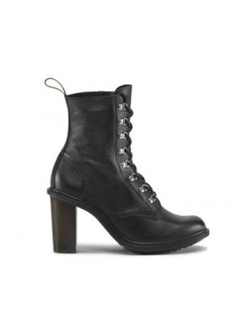 Ботинки женские Dr.Martens Corinna Black Polished Virginia 16133001_45758