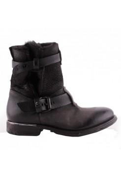Ботинки женские A.S.98 708208 smoke-nero-nero