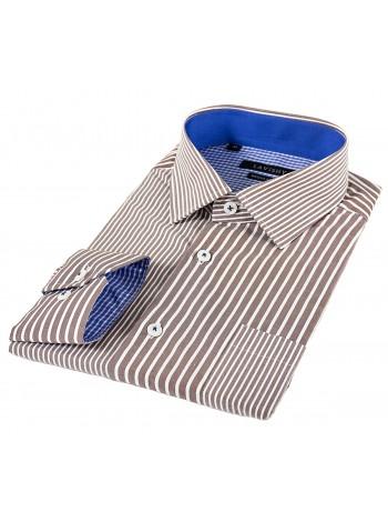 Мужская классическая рубашка LAVISHY LA35LA218001_LAV