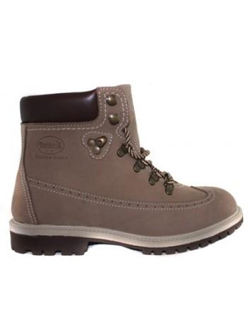 Ботинки женские Dockers 1202404 серые мех _89034