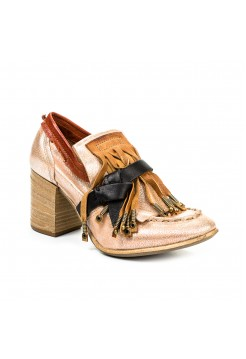 Туфли женские A.S.98 966107-101-grano-dune-nero-malaga