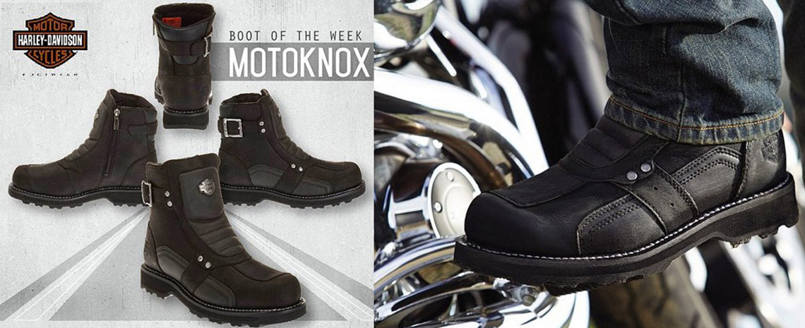 Мотоботы Harley-Davidson